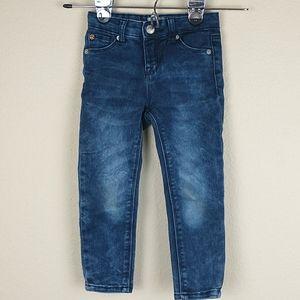 Hudson baby skinny jeans 24 months adjustable